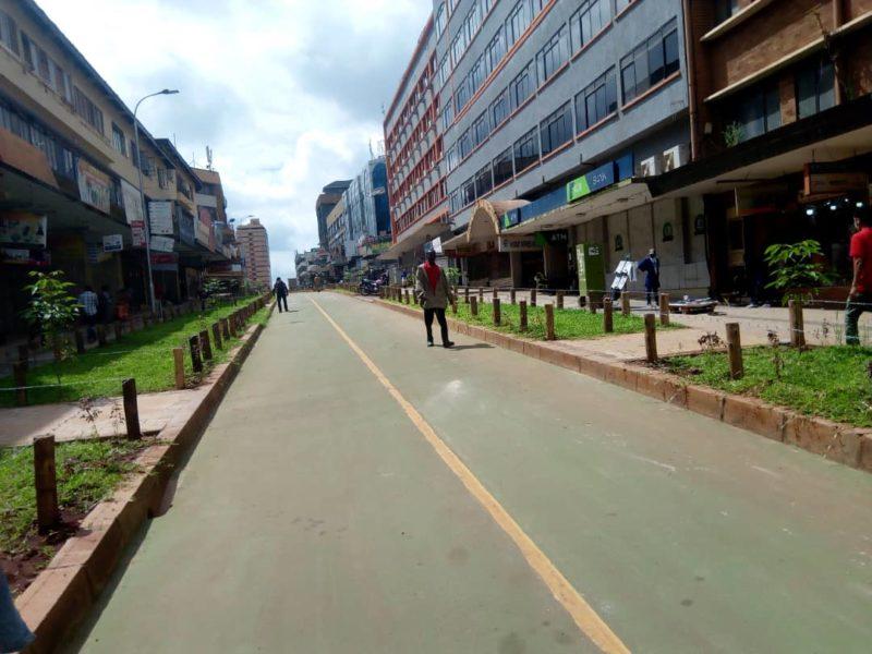 Luwum Street in Kampala