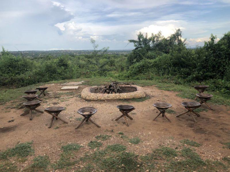 Red Chilli Camp campfire site