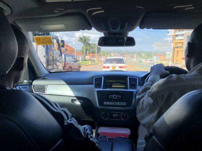 Autofahrt Uganda von Entebbe nach Kampala