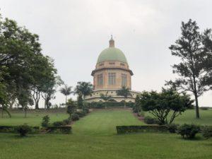 Baha´i Tempel in Kampala & Gartenanlage