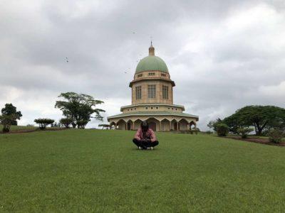 Bahai Tempel Kampala Park in Ugandas Hauptstadt