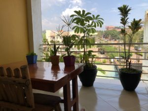 Balkon Pulickal Airport Hotel Entebbe