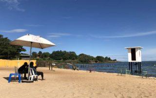 Spennah Beach Entebbe on Lake Victoria in Uganda