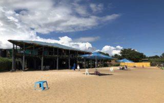 Beach bar Spennah Beach Entebbe on Lake Victoria