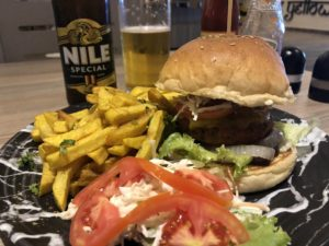 Burger & Pommes Restaurant The Yellow Chilly Jinja