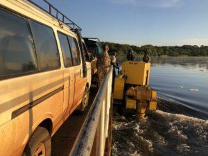 Fähre Murchison Falls National Park Nil Überquerung