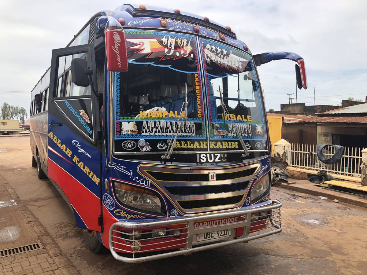 Isuzu Bus in Kampala