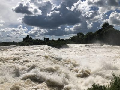 Nil Stromschnellen Itanda Falls bei Jinja