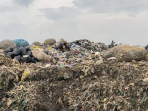 Kampala Kiteezi Mülldeponie Uganda