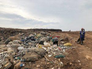 Müllsammler Mülldeponie Kampala Kiteezi