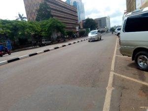 Kampala Road Lockdown in Uganda