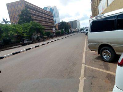 Uganda Kampala Road Lockdown