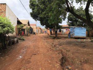 Kazo Kawempe Seitenstraße