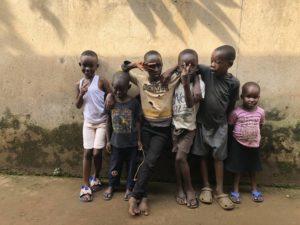 Kinder in Kazo Kawempe