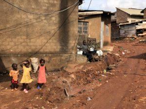 Kinder in Kampala in Kazo Kawempe
