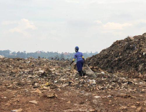 Mülldeponie Kiteezi Landfill in Kampala