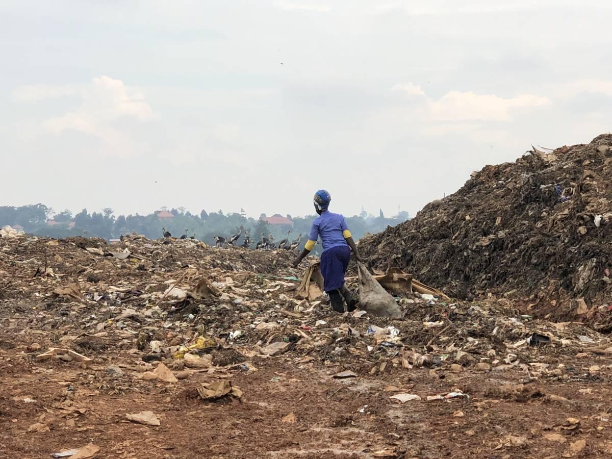 Mülldeponie Kiteezi Kampala Uganda