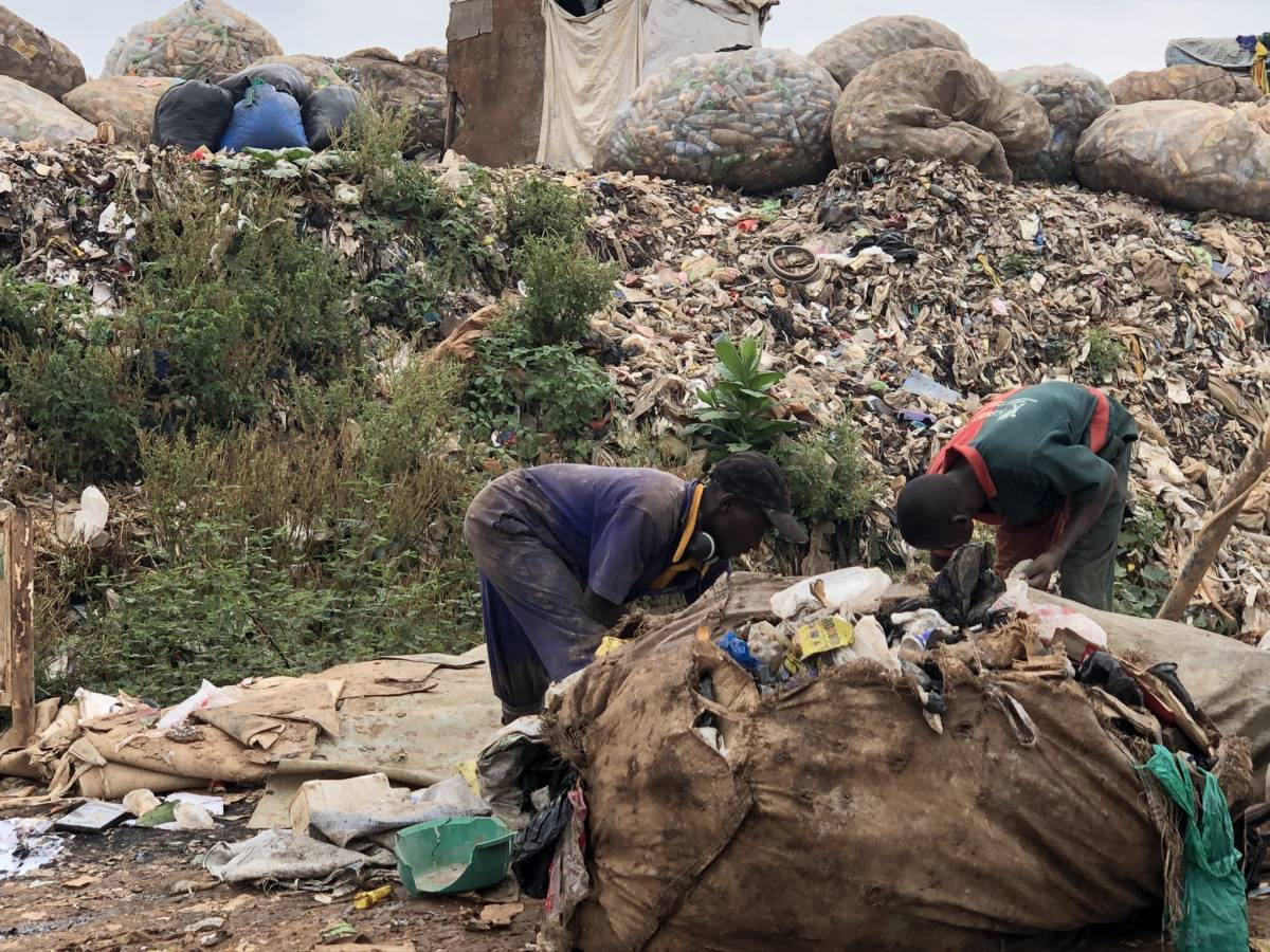 Kiteezi Mülldeponie Kampala