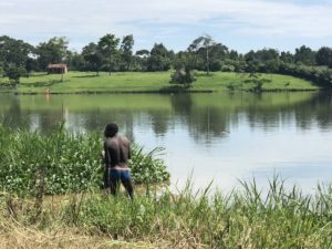 Nil Flußufer Jinja
