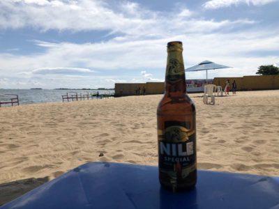 Nile Special am Spennah Beach Entebbe