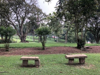 Parkanlage Bahai Tempel Kampala