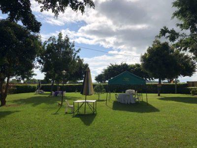 Peniel Beach Hotel Entebbe Garten
