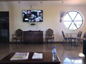 Peniel Beach Hotel Entebbe Lobby