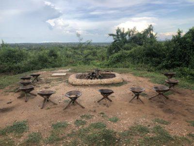 Lagerfeuerplatz Red Chilli Camp Murchison National Park