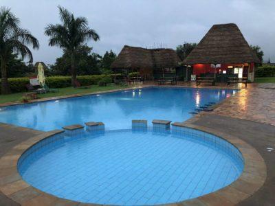 Pool Red Chilli Hotel Kampala