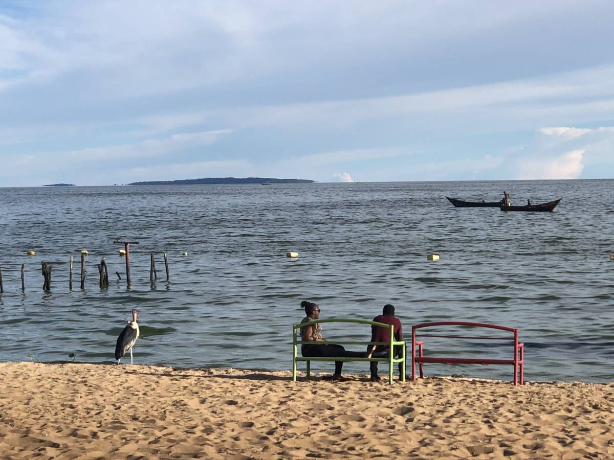 Spennah Beach Entebbe at Lake Victoria