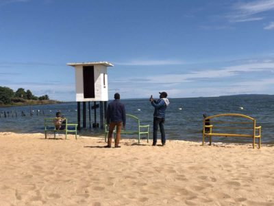 Spennah Beach Victoriasee Uganda