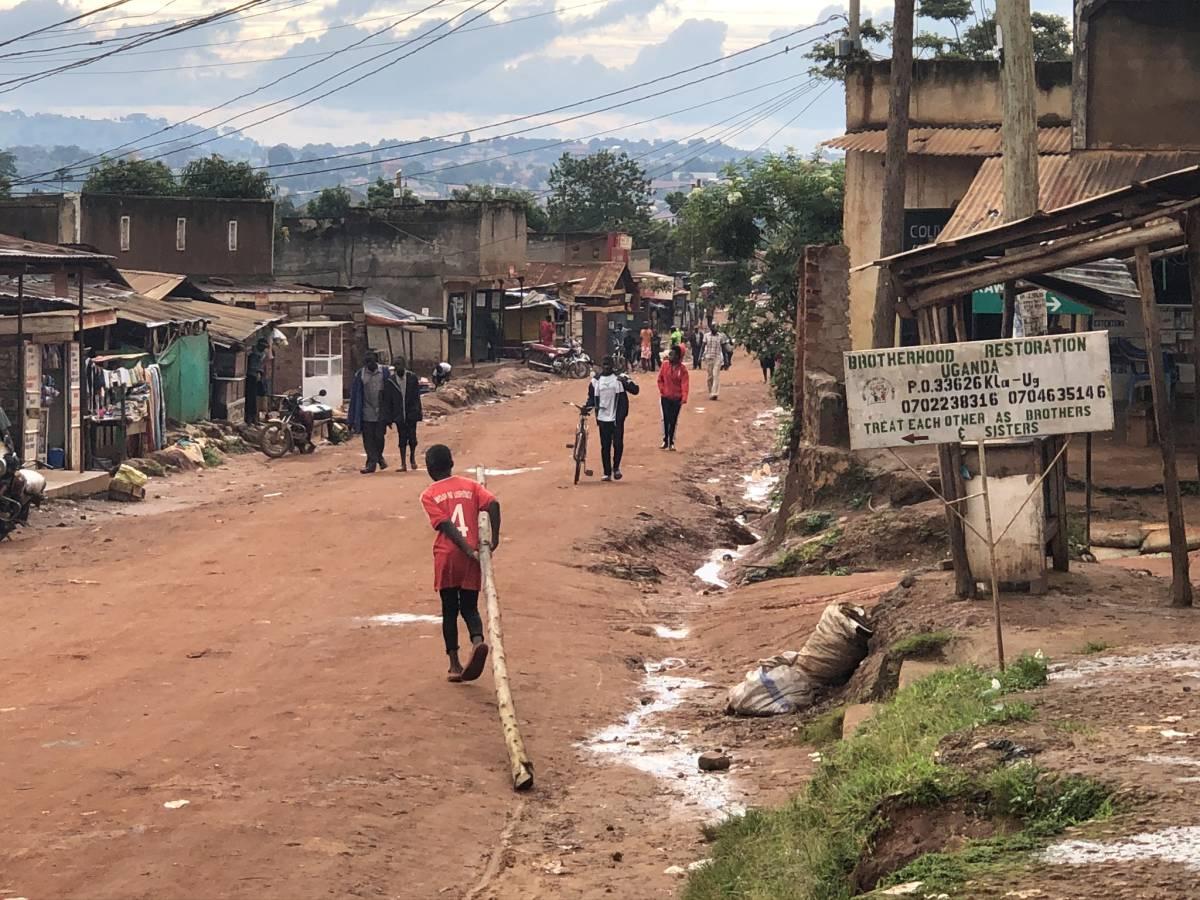 Straße in Kazo Kawempe