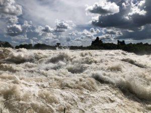 Itanda Falls Stromschnellen Jinja Uganda